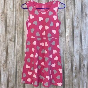 💕3/$15 💕Heart Skater Dress
